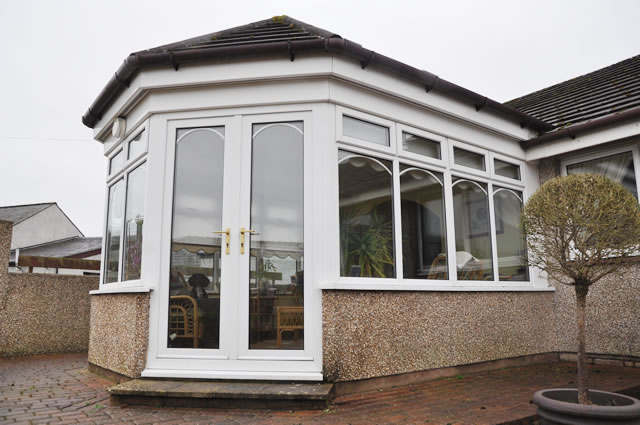 Photograph of a conservatory in Newton Stewart