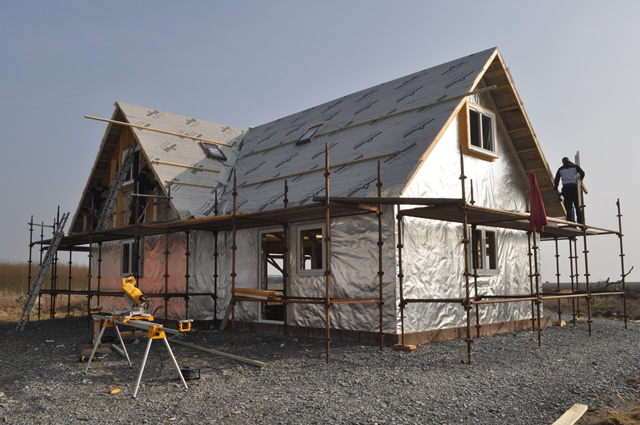 Photograph of a new build at Baldoon, Wigtownshire